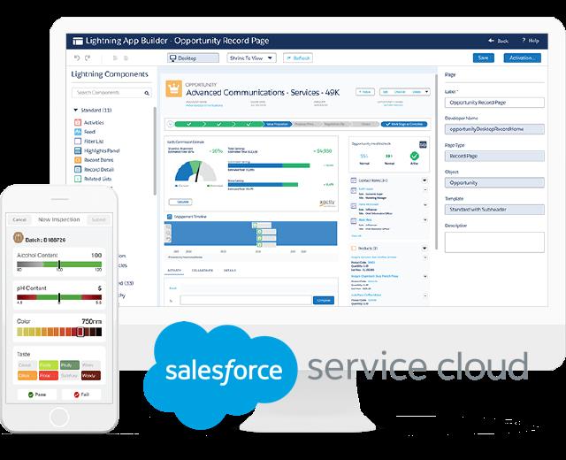 Saleforce Service Cloud para atención al cliente
