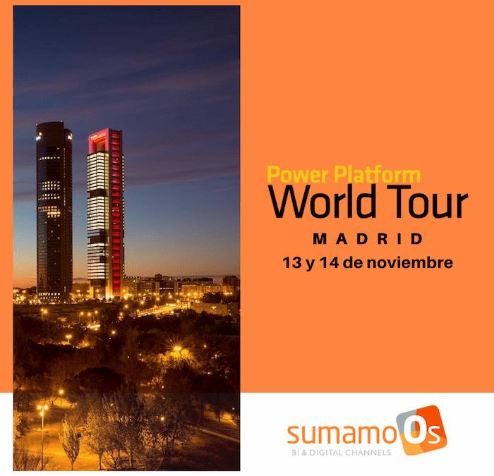 Nos vamos al Power Platform World Tour de Madrid