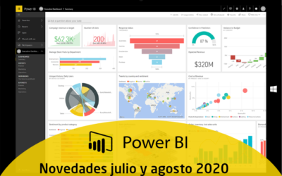 Novedades Power BI Julio-Agosto 2020