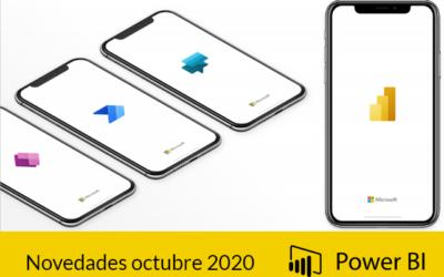 Novedades Power BI octubre 2020