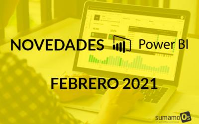 Novedades Power BI febrero 2021