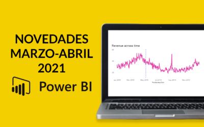 Novedades Power BI marzo y abril 2021