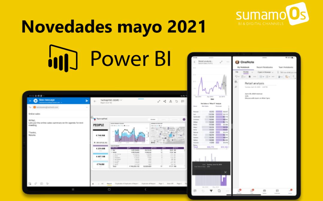 Novedades Power BI mayo 2021