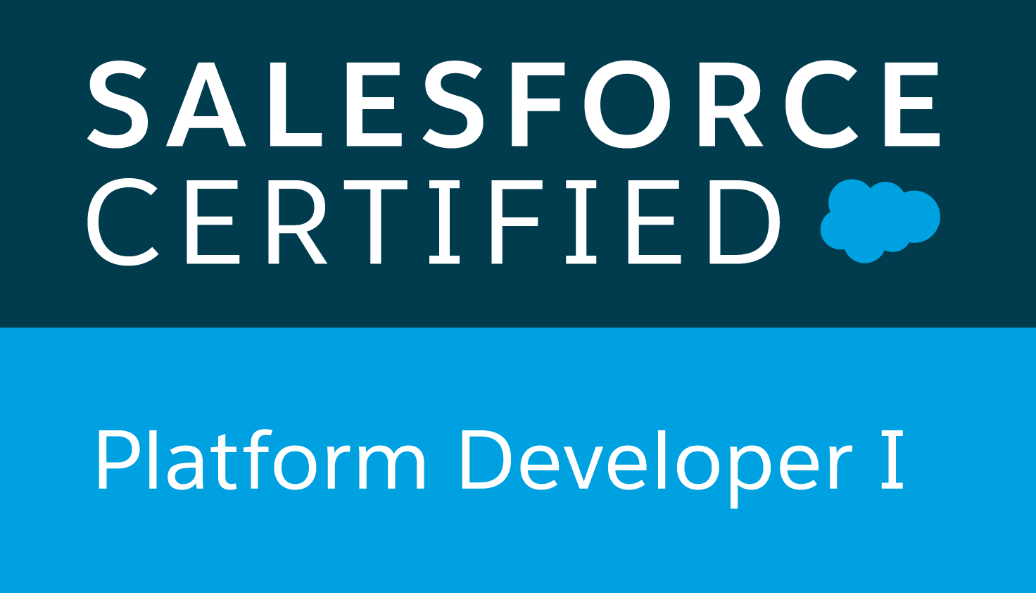 Logo Salesforce Platform Developer I