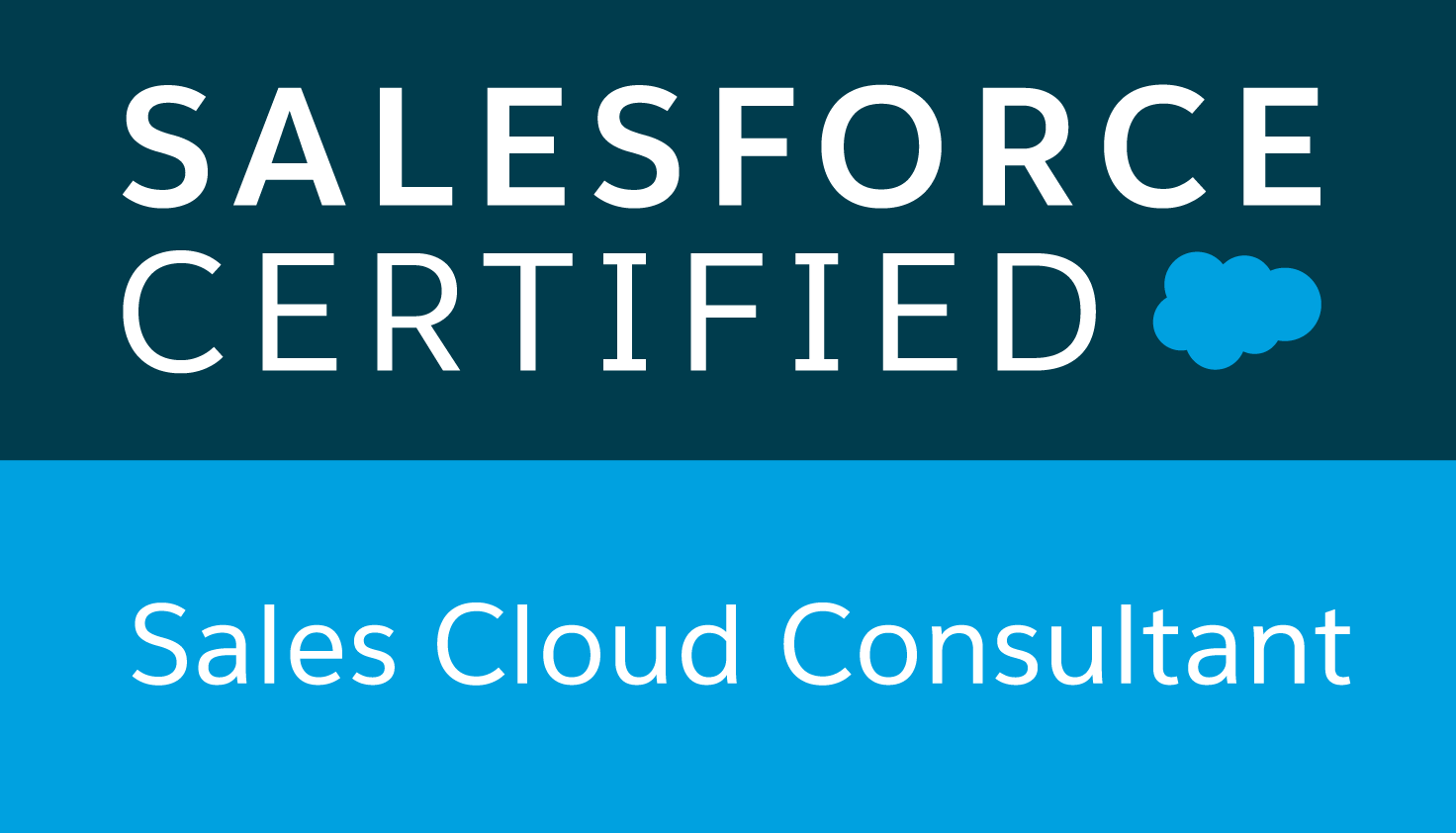 Logo Salesforce Sales Cloud Consultant