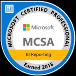 MSCA BI Reporting