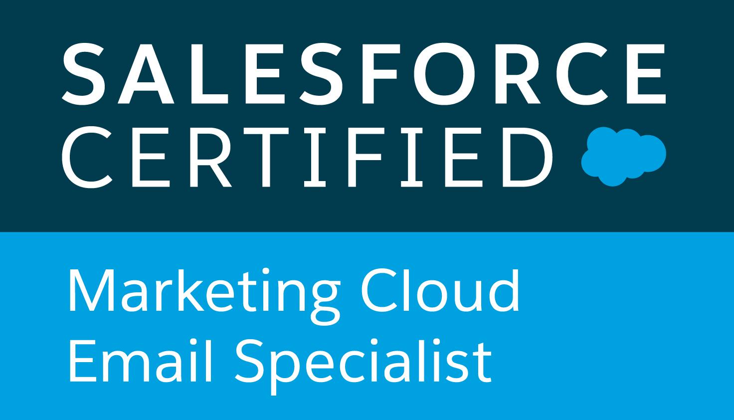 Salesforce Certified Marketing Cloud
