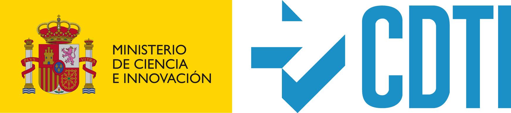Fondos FEDER logo CDTI